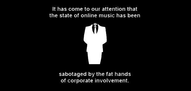 Anontune: Anonymous Hacker Group's New Music Platform