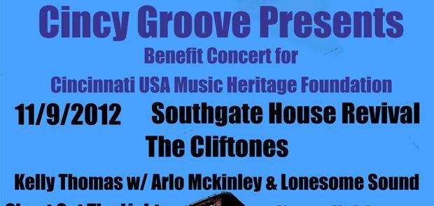 Cincinnati USA Music Heritage Foundation Benefit