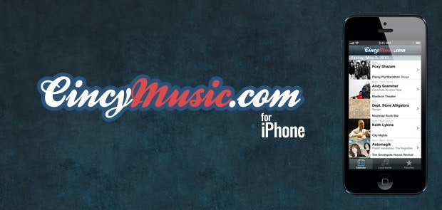 CincyMusic.com for iPhone
