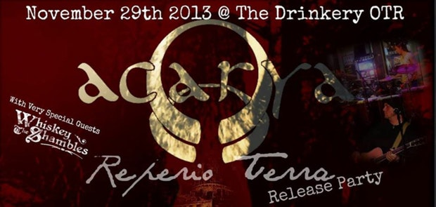 Acarya CD Release at The Drinkery!