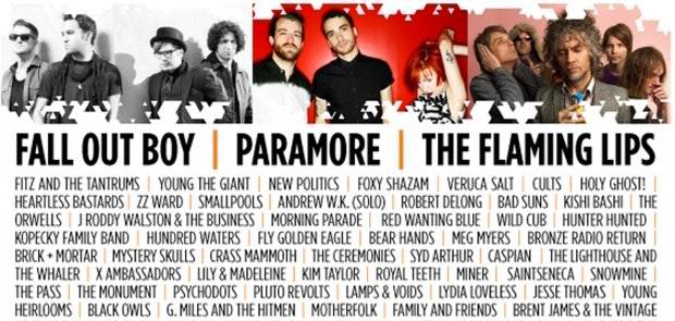Bunbury Music Festival Lineup Released