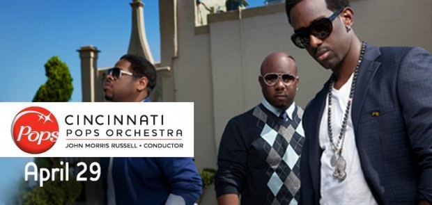 Boyz II Men and the Cincinnati Pops Hit the Stage Tuesday