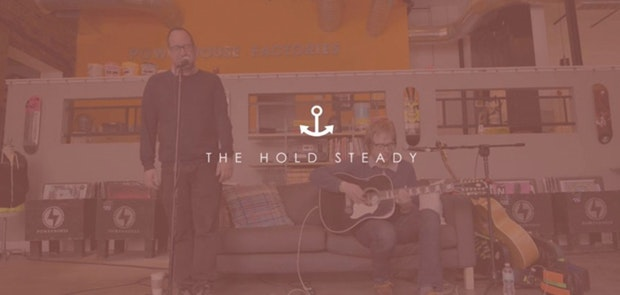 Powerhouse Live Session Featuring The Hold Steady