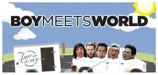 BoyMeetsWorld Touring With Vans Warped Tour