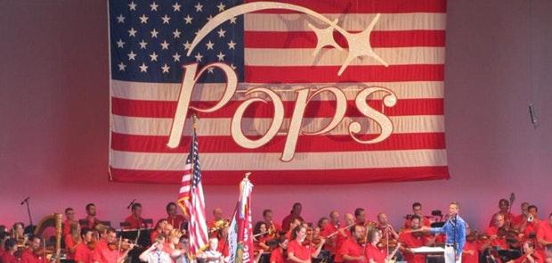 The Cincinnati Reds, The Cincinnati Pops and Fireworks