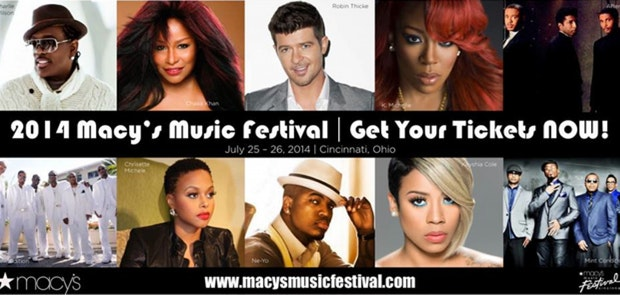 Macy's Music Festival Set to Cap off Magical Month of Music