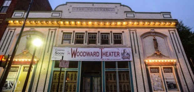 Woodward Theater Launch Party #PintsForPaint