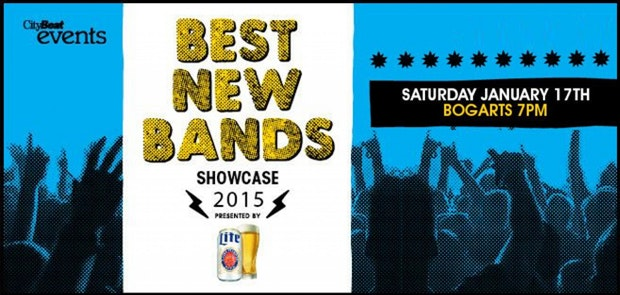 Best New Bands Showcase at Bogart's Saturday