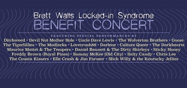Benefit for Brett Walls at The Southgate House Revival
