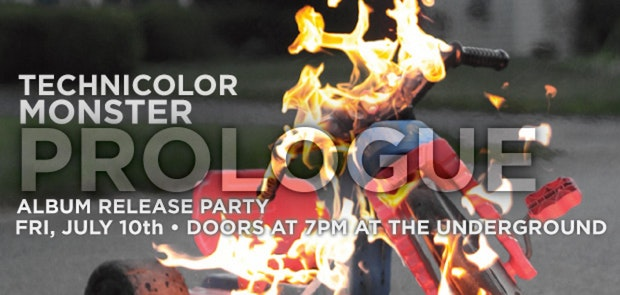 Technicolor Monster LP Release Show and Warped Tour