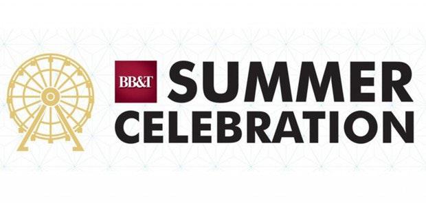 BB&T Summer Celebration Announces MORE Entertainment