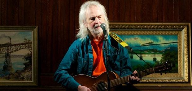 Austin TX Music Hall of Famer Gurf Morlix Plays Folk School
