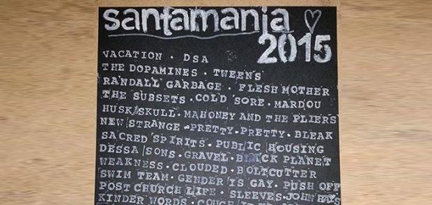 Santamania Cures Your Punk Needs