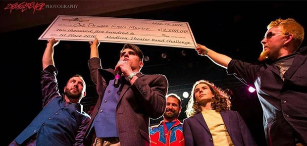One Degree From Mande Wins Madison Theater Band Challenge
