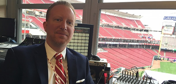 Interview: Aaron Sharpe, Our Cincinnati Reds DJ