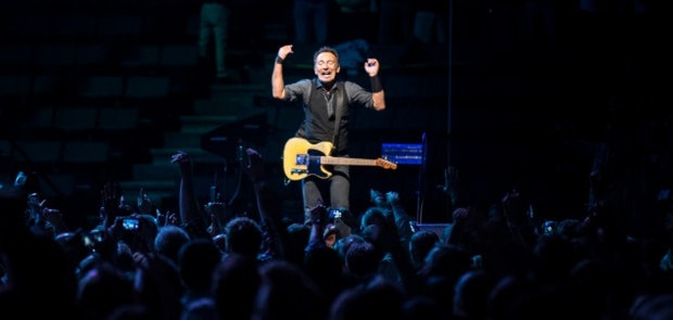 Springsteen Brings Columbus Down To The River