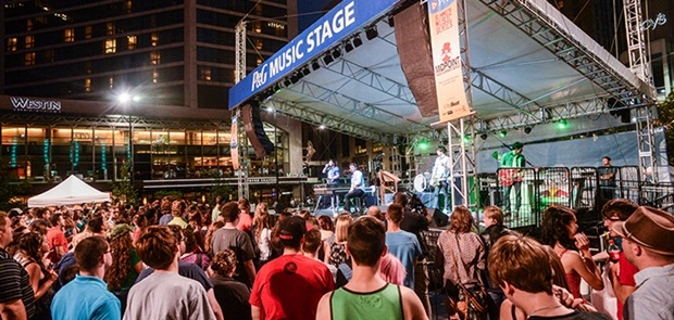 Indie Vol. 2016 at Fountain Square Lineup Announced
