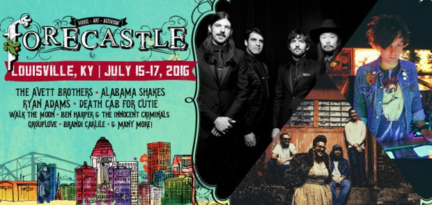 Cruise Down the River to The Forecastle Festival!