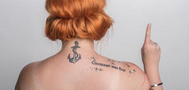 Love Letters to Showcase Cincinnati Tattoo Project