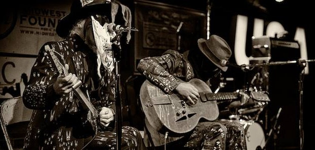 """The duo Freight Train Rabbit Killer's doom blues """"nothing less than an American roots opera."""