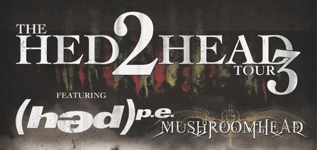 Enter to win tickets to see Mushroomhead & (hed) P.E.