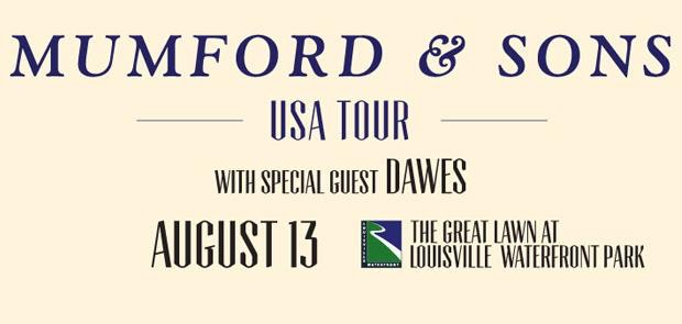 Enter to win tickets to see Mumford & Sons