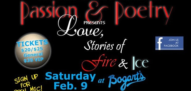 Enter to win tickets to Passion & Poetry at Bogart's