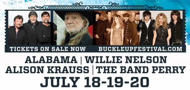 Enter to win a pair of weekend passes to Buckle Up!