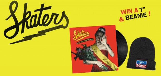 Win Tickets to Skaters PLUS a record & beanie