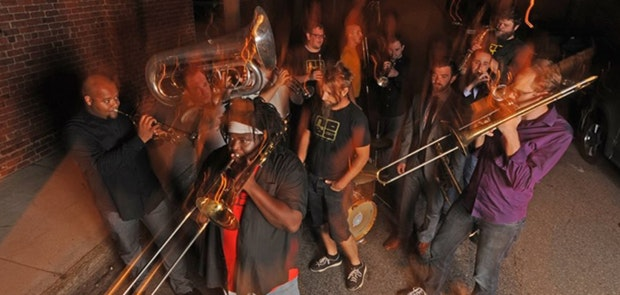 Enter to win tickets to see No BS! Brass Band