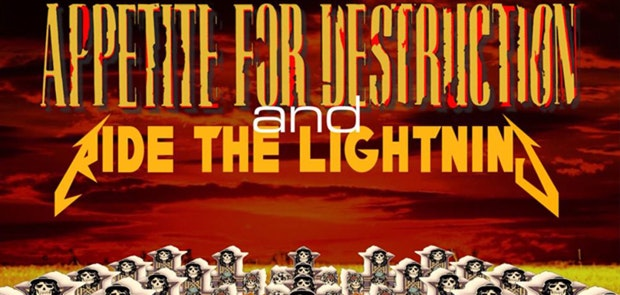 Win a pair of tickets to Appetite For Destruction & Ride The Lighning