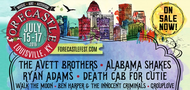 Enter to win a pair of 3-day passes to Forecastle 2016!