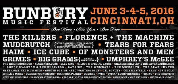 Enter To Win Passes to Bunbury Music Festival!