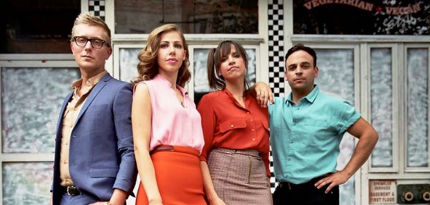 Enter for a shot at a pair of tickets to see Lake Street Dive & Holy Ghost Tent Revival at Madison Theater on June 14!