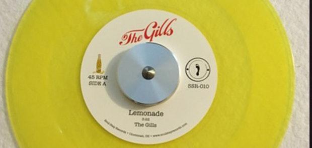 "Win a Limited Edition The Gills ""Lemonade"" Vinyl"