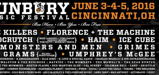 Enter To Win Passes to Bunbury Music Festival!