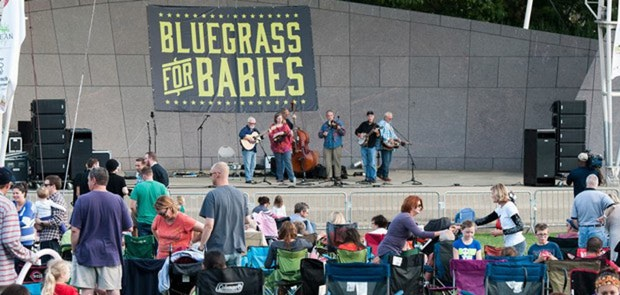 Enter To Win Tickets To Bluegrass For Babies