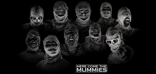 Enter for a shot at a pair of tickets to seeHere Come The MummieswithThe Almighty Get DownatBogart'son October 13!