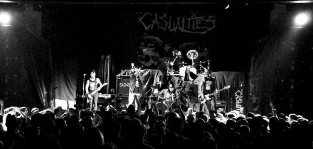 The Casualties :: Photo courtesy of KP Photography