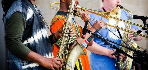 Baoku & The Image Afro-Beat Band :: Sarah McDermott Photography