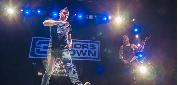 3 Doors Down :: Tony Bailey Photography