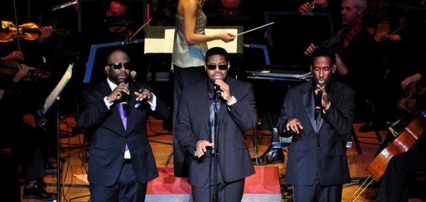 Boyz II Men with The Cincinnati Pops :: Miachael Gabbard Photography