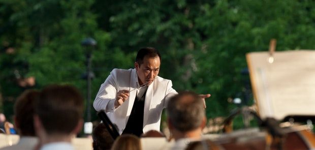 Photos from Opera In The Park at Washington Park with the Cincinnati Symphony Orchestra and Cincinnati Opera. Photos courtesy of Michael Kearns