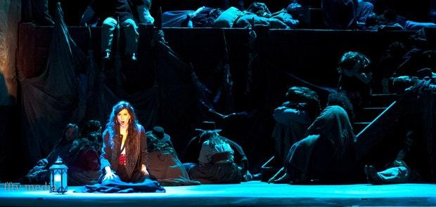 Cincinnati Opera's Dress Rehearsal for CARMEN (June 12, 14, 20 & 22 at Music Hall). Photo courtesy of Michael Kearns