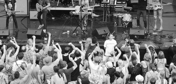 Bunbury 2014 :: Kopecky Family Band :: photo courtesy of KP Photography