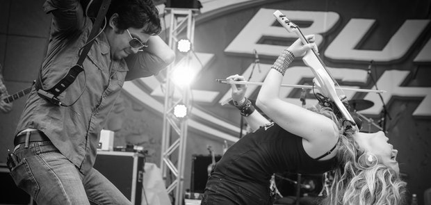 Buckle Up 2014 :: Natalie Stovall and the Drive :: photo courtesy of KP Photography