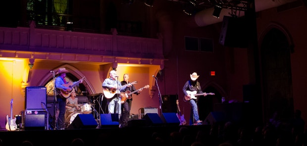 Dave Alvin and the Guilty Ones and Patrolled By Radar at The Southgate House Revival :: Courtesy of Michael Kearns
