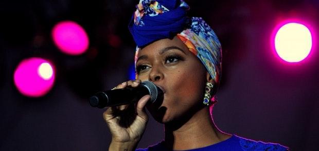 Chrisette Michelle :: Macy's Music Festival :: Courtesy of Michael Gabbard Photography