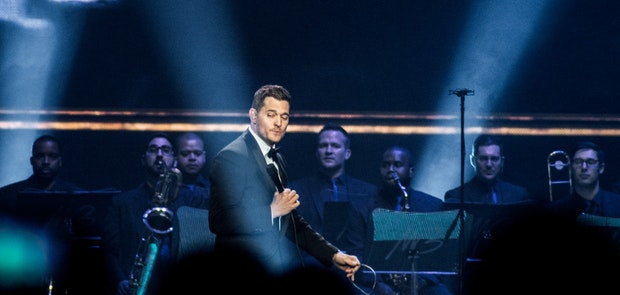 Michael Bublé :: Photo courtesy of KP Photography