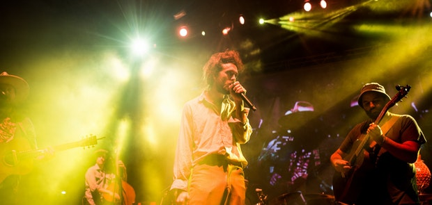 Edward Sharpe and the Magnetic Zeroes :: Courtesy of KP Photography